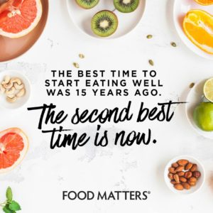The Best Time To Start Eating Well