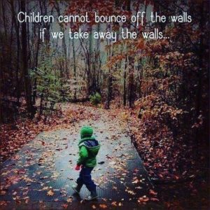 Children Cannot Bounce Off The Walls...