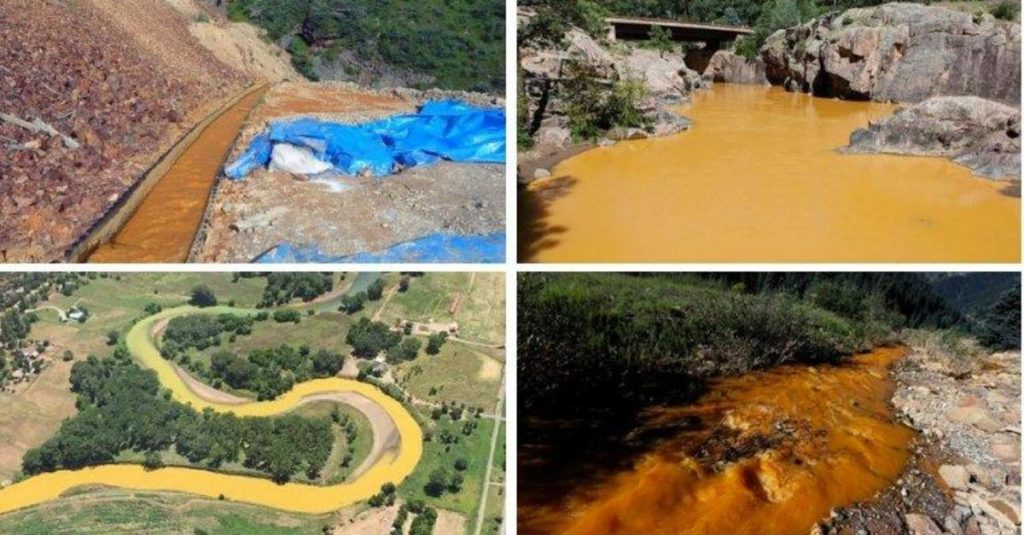 US mining sites unleash 50 million gallons of toxic water into lakes and streams every day