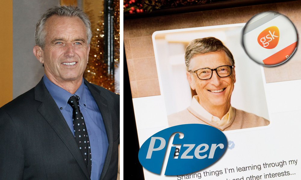 Robert F. Kennedy Jr. Exposes Bill Gates' Relationship With Big Pharma