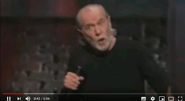 George Carlin - The Fear of Germs