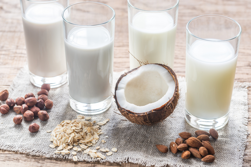 Real Milk vs Almond Milk vs Soy Milk vs Coconut Milk