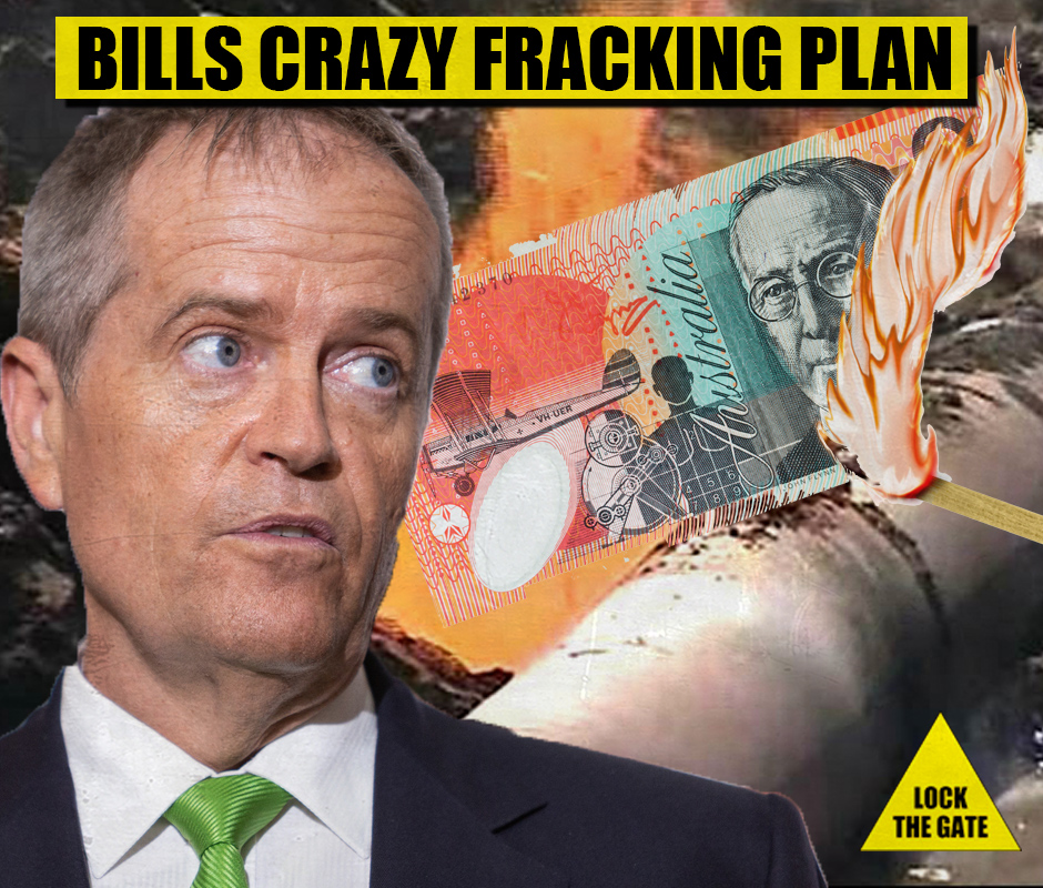 Bill's Crazy Fracking Plan