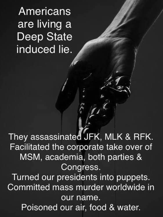 We Are Living A Deep State Lie
