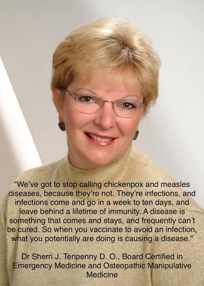 Dr Sherry Tenpanny On Infections