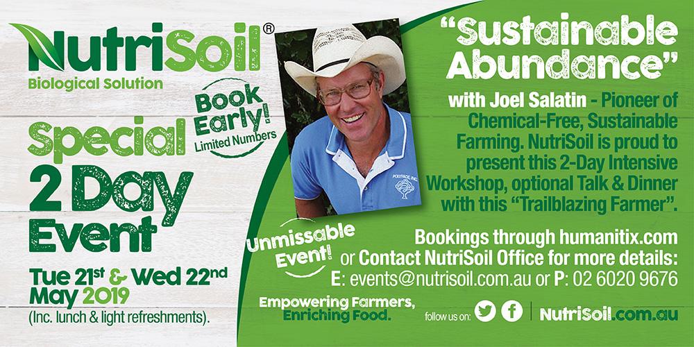 Joel Salatin Event