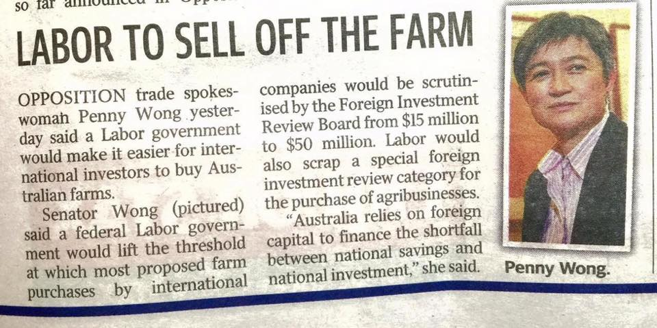 Labor To Sell The Farm