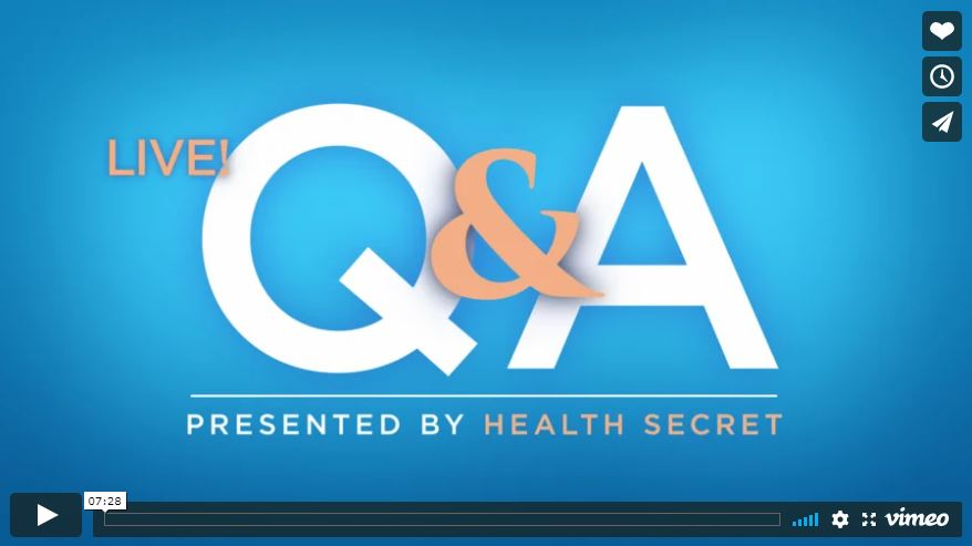 Live Q And A With Doctor
