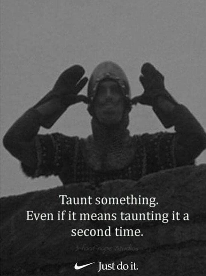 Taunt Something