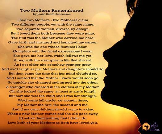 Two Mothers Remembered