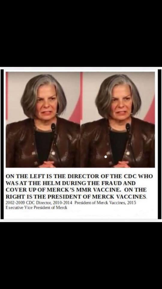 CDC Director - Merck President