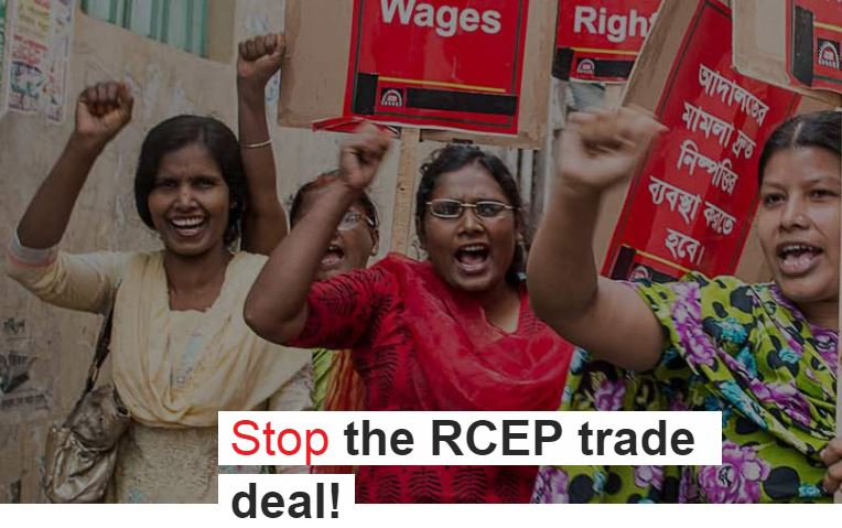 Stop The RCEP Trade Deal