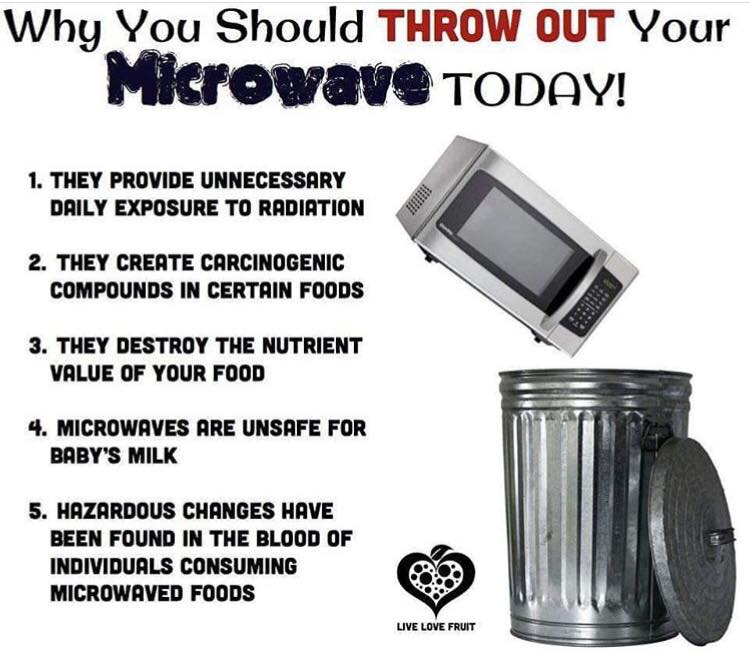 Throw Out Your Microwave