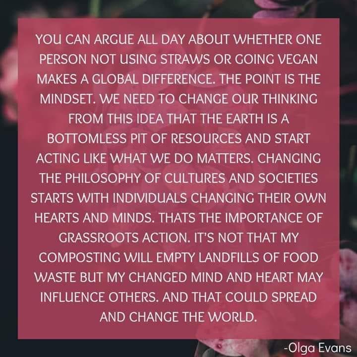 We Need A Changed Mindset