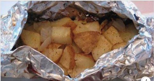 Food In Foil = Health Fail!