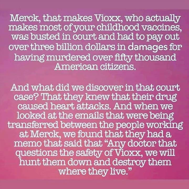Merck Kills