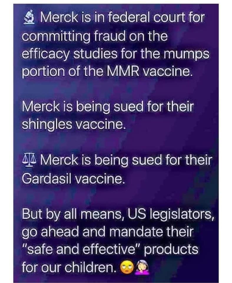 Merck Sued