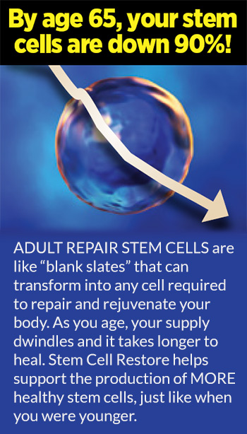 An Ad For A Stem Cell Booster