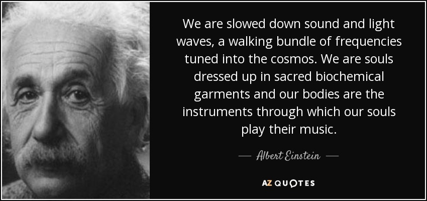Albert Einstein Sound Waves