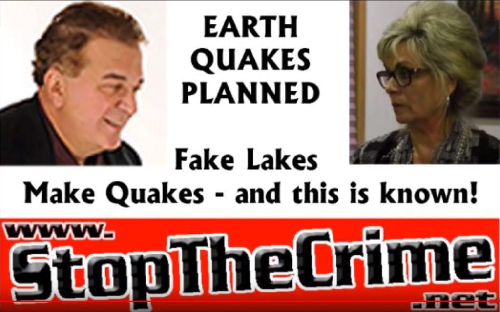 Fake Lakes Make Quakes