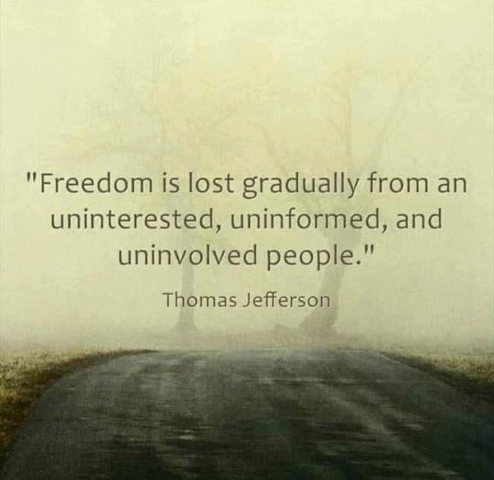 How Freedom Is Lost