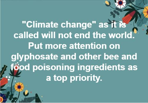 Climate Change Is A Distraction