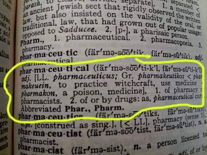 Define Pharmaceutical