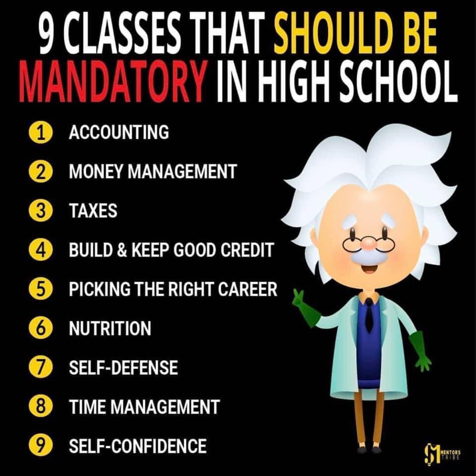 Suggested Mandatory Classes