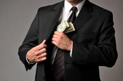Bribery-pocketing-money