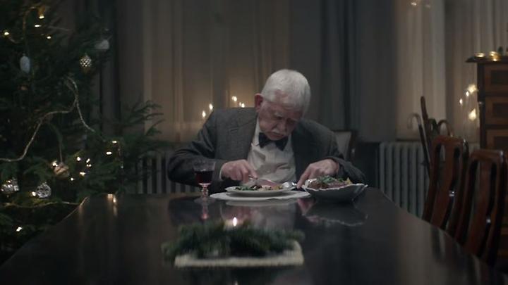 Man At Christmas