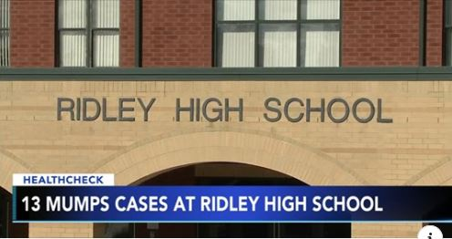 13 Cases of Mumps at Ridley High School