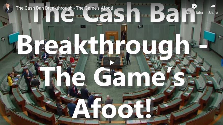 The Cash Ban Breakthrough