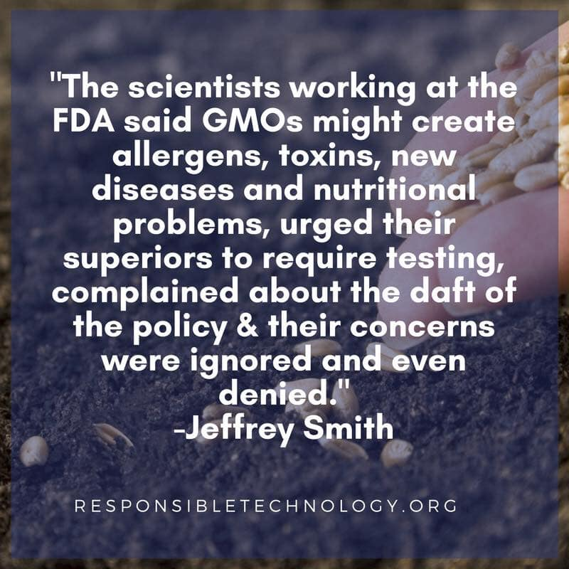 FDA GMO Corruption