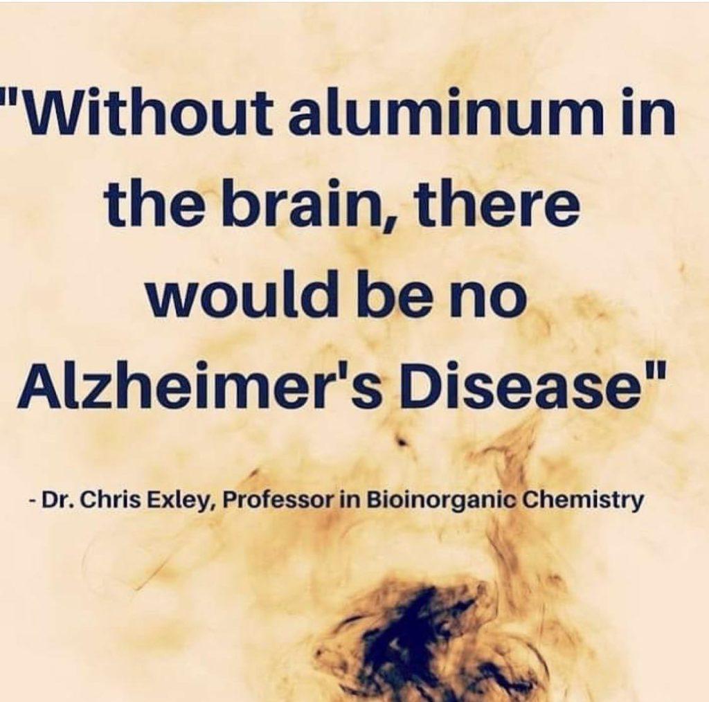 No Aluminium - No Alzheimers