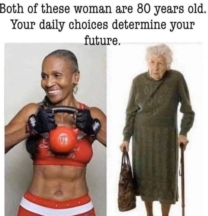 Two Eighty Year Olds - Your Choice