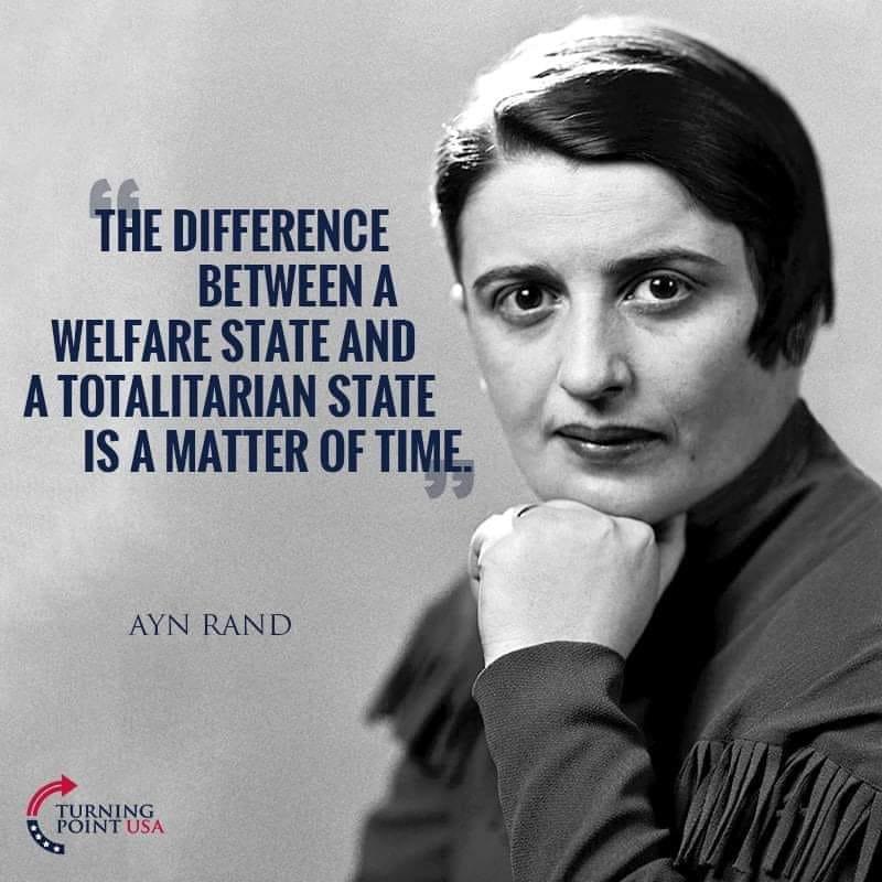 Welfare Leads To Slavery