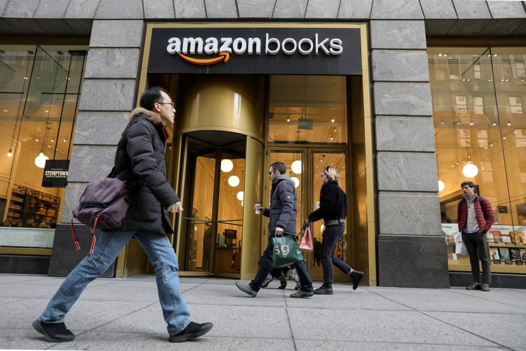 Amazon Books Storefront