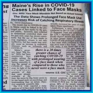Maine Masking Increases COVID-19 Cases