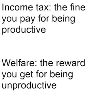 Income Tax And Welfare