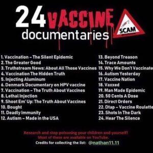 24 Vaccine Documentaries