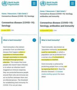 Herd Immunity Redefined