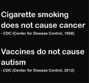 CDC Spectacularly Wrong