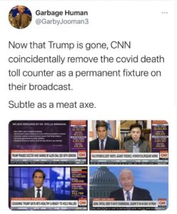 CNN Subtle As A Meat Axe