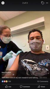 Vaccine Story - Karl Dunkin