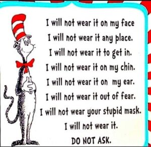 Dr Seuss I Will Not Wear It