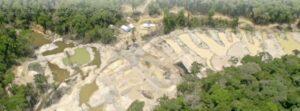 Amazon Mining Destruction
