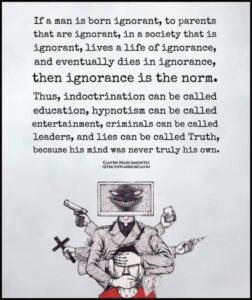 Ignorance By Gavin Nascimento