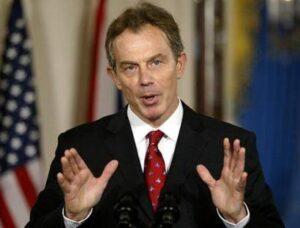 Tony Blair Speaking