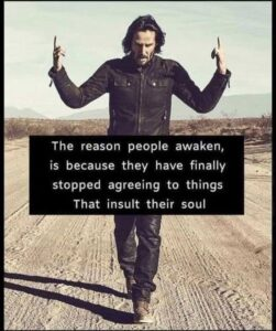 The Reason People Awaken