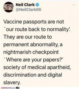 Vaccine Passport Lie